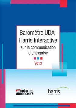 L'image de l'entreprise, bénéfice majeur de la communication responsable Baromètre UDA- Harris Interactive