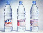 Evian cr�e le march� de l'eau min�rale en France