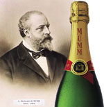 Mumm troisième marque de champagne dans le monde